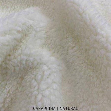Carapinha Natural tecido pelúcia pelô Encaracolado e base firme