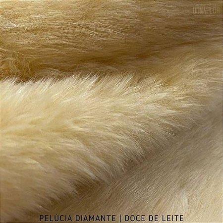 Pelúcia Diamante Doce de Leite pelô Médio e base Firme