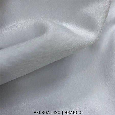 Velboa Branco tecido Pelúcia Baixa pelô 3mm