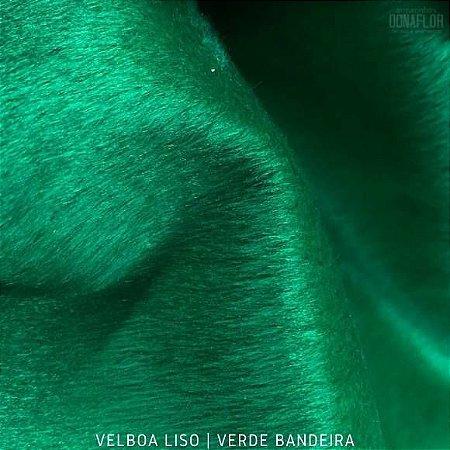 Velboa Verde Bandeira tecido Pelúcia Baixa pelô 3mm