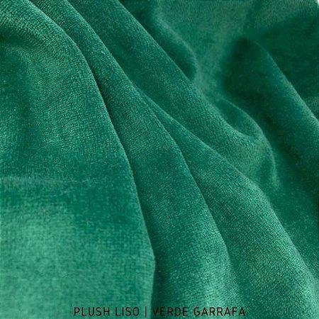 Plush Verde Bandeira  tecido toque Aveludado e Leve Brilho