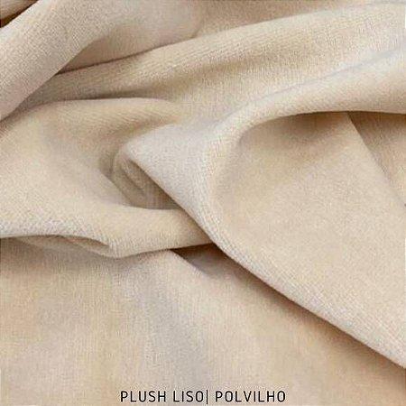 Plush Polvilho tecido toque Aveludado e Leve Brilho