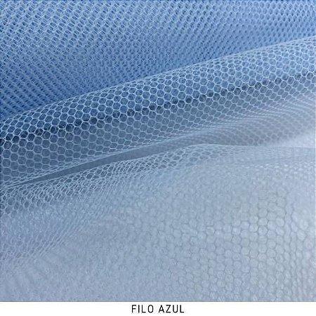 Filó Armação Azul tecido para Saias, Decoração e Embalagens
