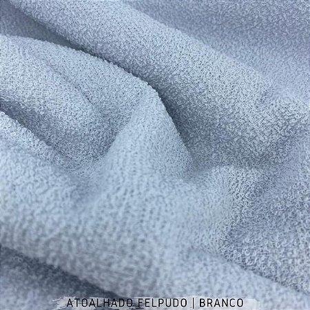 Atoalhado Felpudo Branco 100% Algodão tecido Felpado firme