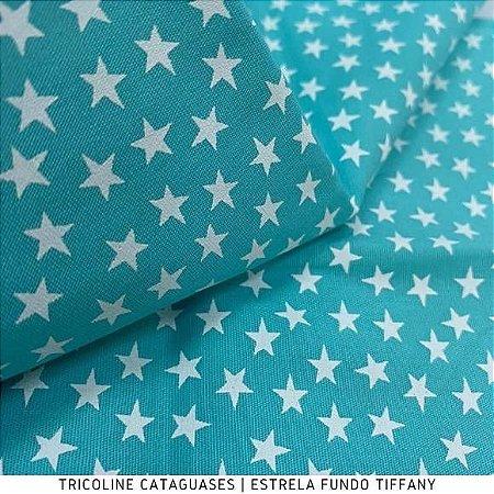 Tricoline Estrela Tiffany tecido Cataguases 100%Algodão - 1,40Largura