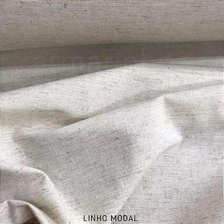 Linho com Viscose Modal tecido para Roupas, Costura Criativa