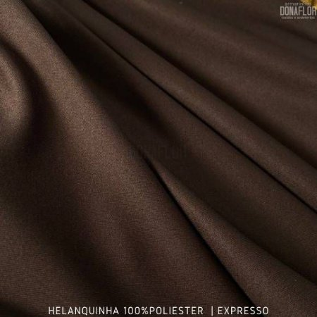 Helanquinha Marrom tecido Elasticidade para Roupas e Decorações - 1,80Largura