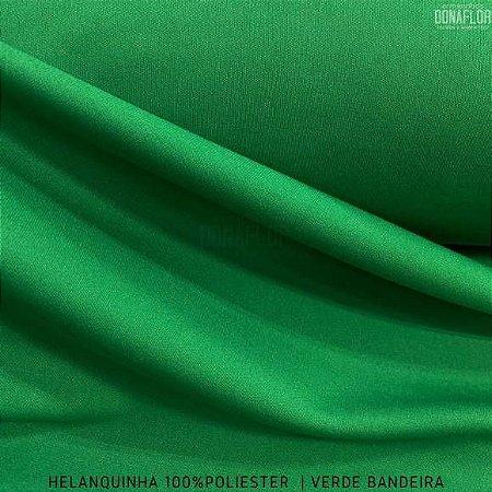Helanquinha Verde Bandeira tecido Elasticidade para Roupas e Decorações - 1,80Largura