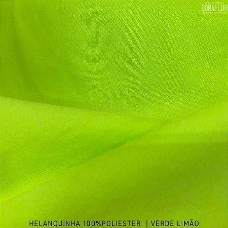 Helanquinha Verde Limão tecido Elasticidade para Roupas e Decorações - 1,80Largura