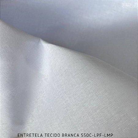 Entretela de Tecido Firme Branco Termocolante toque Rígido