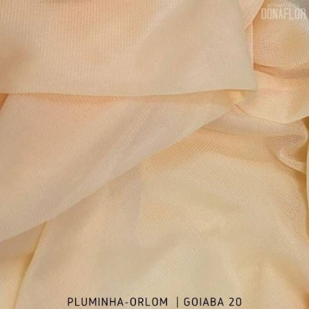 Pluminha Orlon, Goiaba C20 tecido Malha Felpuda para Costura Criativa