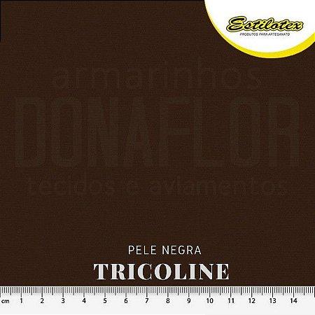 Tricoline Estilotex Pele Negra tecido 100% Algodão 60fios