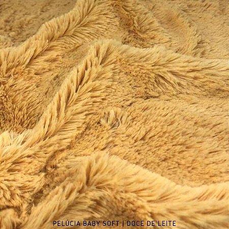 Pelúcia Baby Soft Doce de Leite 50cm x 1,50m