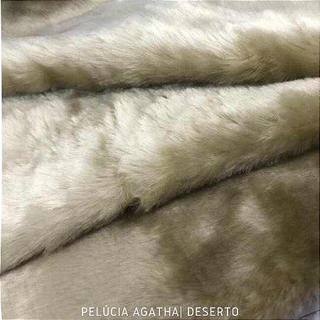 Pelúcia Agatha Deserto 50cmx1,50m