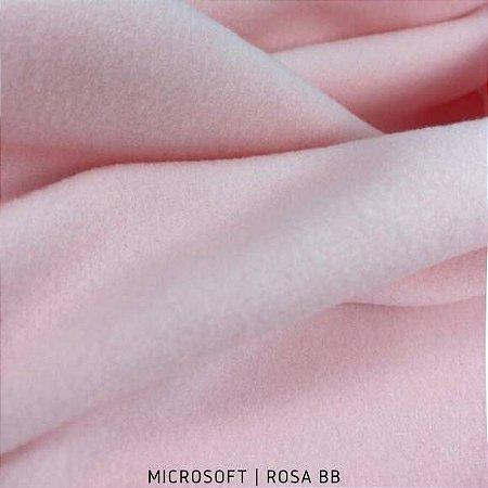 Microsoft Liso Rosa bebê 50cmX1,60m