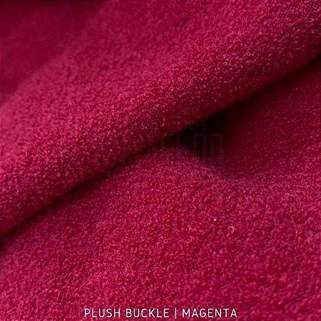 Buckle Plush Passione Vermelho tecido Flanelado e Felpudo por Fora 50cmx1,50m
