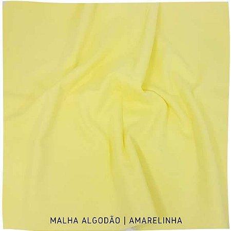 Malha Algodão Amarelinha 50x1,80m (tubular)