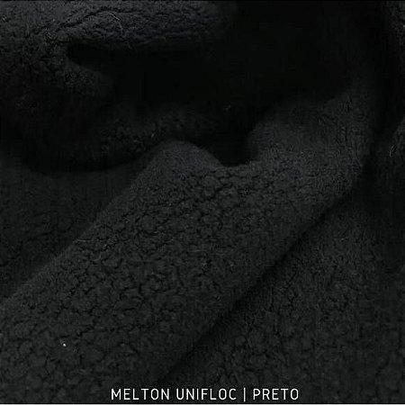 Melton - Unifloc Preto| 50cm x 1,60m