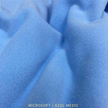 Microsoft Azul Médio tecido Hipoalérgico 50cmX1,60m