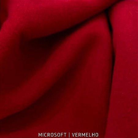 Microsoft Vermelho tecido Hipoalérgico 50cmX1,60m