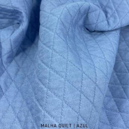 Quilt Azul 50cm x 1,50m