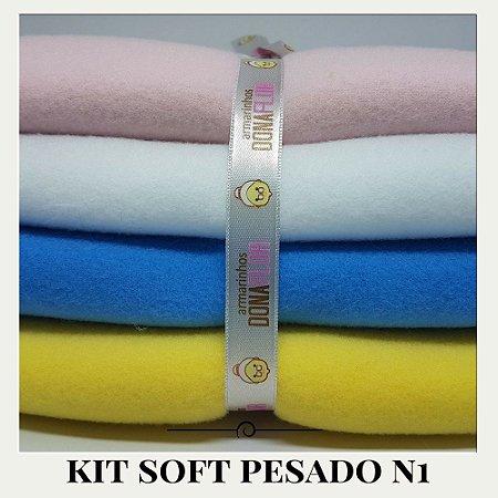 Kit Soft Pesado N1 4tecidos 30x80cm