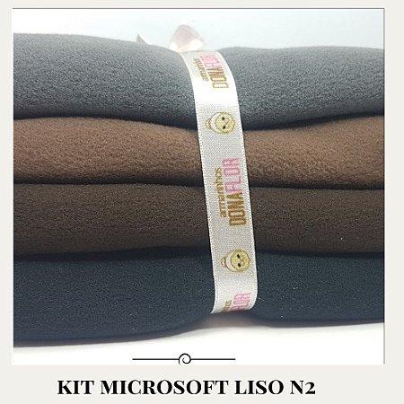 Kit Microsoft N2 4tecidos 30x80cm