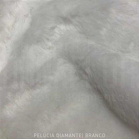 Pelúcia Diamante Branco 50cm x 1,60M