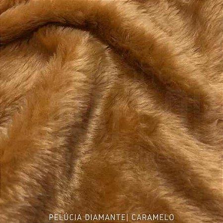 Pelúcia Diamante caramelo 50x1,60M