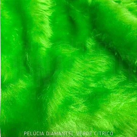 Pelúcia Diamante verde citrico 50x1,60M