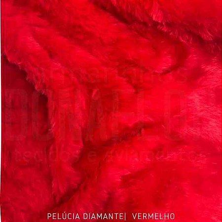 Pelúcia Diamante vermelho 50x1,60M