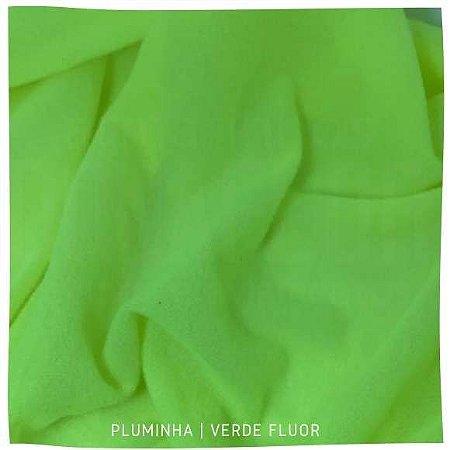 Pluminha Verde Fluor 50cm x 1,40m