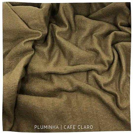 Pluminha Café claro  50x1,40 M