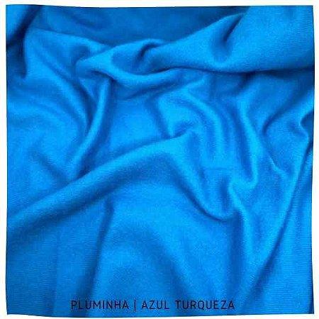 Pluminha Azul turqueza 50x1,40M