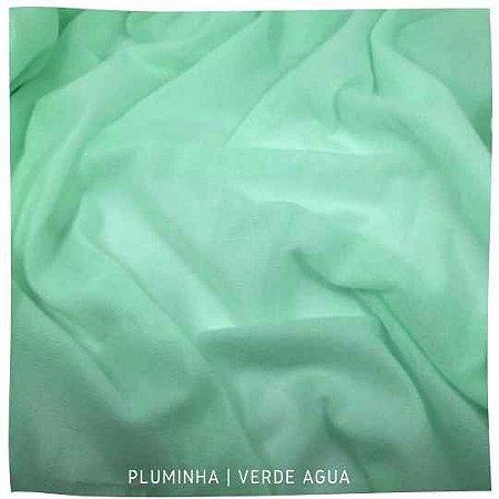 Pluminha Verde Agua 50cm x 1,40m