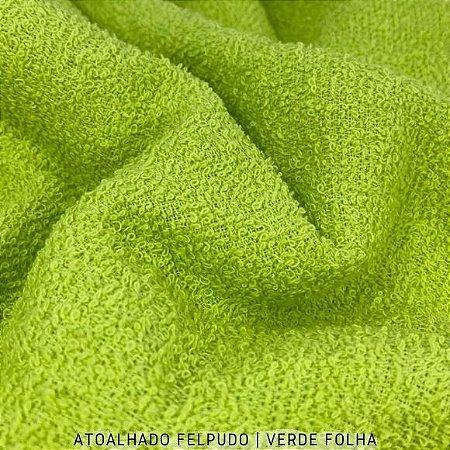 Atoalhado Felpudo Verde Folha  50cmx1,40m
