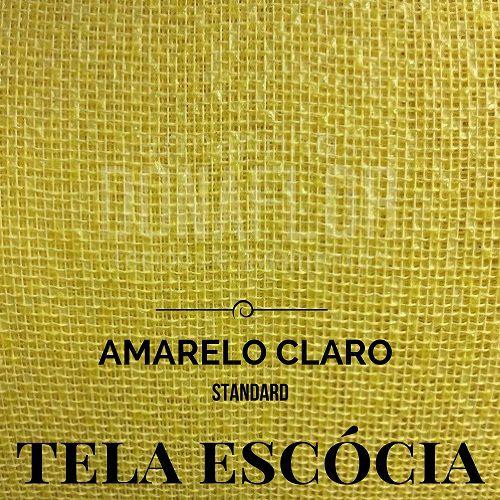 Tela Escócia  Amarelo claro 50X65cm