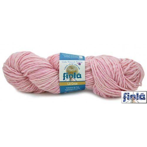 Lã   Corriedale Brinco de Princesa rosa pétala  200gr