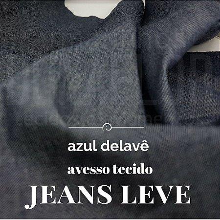 Jeans Leve Azul delavê 50x1,50m