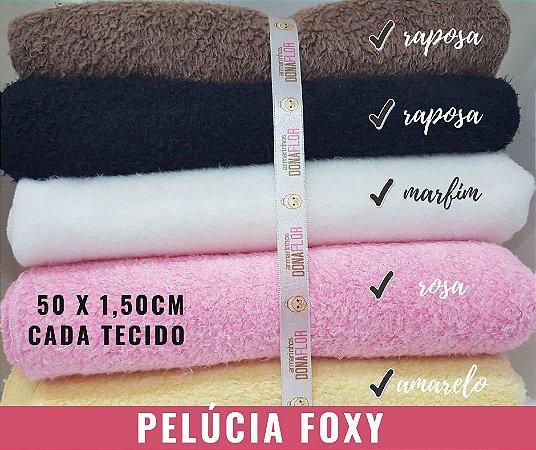 Pelúcia Foxy 5Cortes  50cmx1,60m