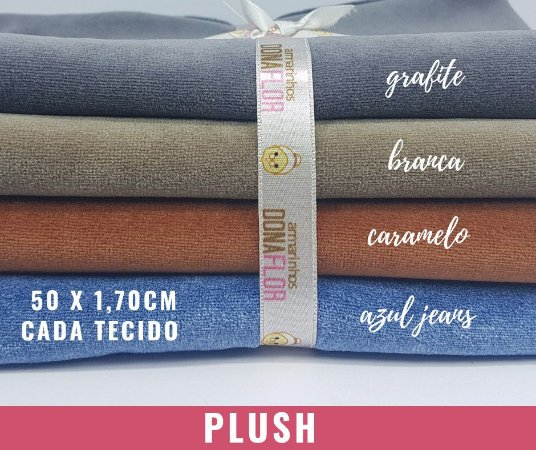Plush Cores 4Cortes 50x1,70m cada