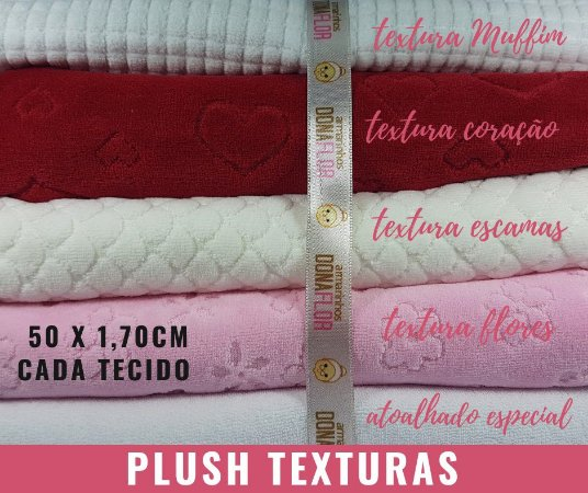 Plush Textura_5Cortes cores