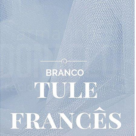 Tule Francês Branco 50x2,40cm