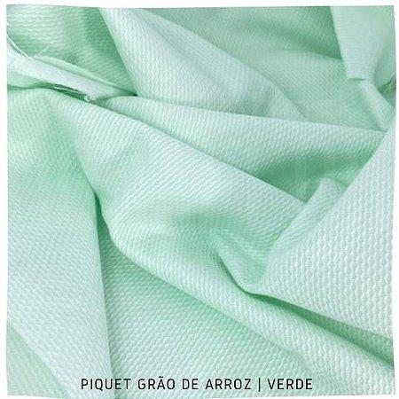 Piquet Grão de Arroz Verde 50cm x 1,45m