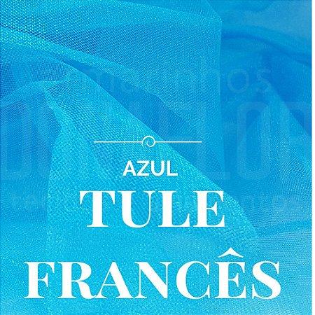 Tule Francês Azul  50x2,40cm
