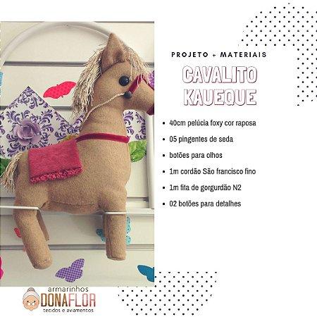Cavalito Kaueque Projeto + Tecidos