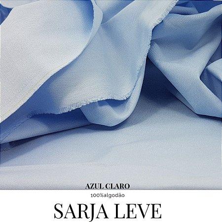 Sarja lisa leve Azul Claro  50cm X 1.60m 100%ALG