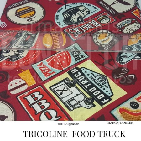 Tricoline Food Truck 50x1,40 largura