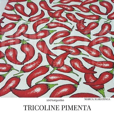 Tricoline Pimenta  50X1,40 largura >ACABOU<