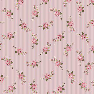 Tricoline botão listrado rosa 50X1,40largura